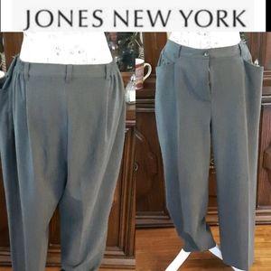 Size 16w Jones New York sport stretch slacks